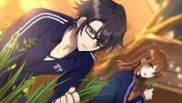 Gakuen K Illustration, Fushimi Route 01a