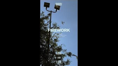 BOBBY - LOVE AND FALL 'FIREWORK'