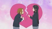 Mio tidak akan bergabung dengan Klub Literatur