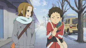 Ritsu with Satoshi