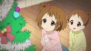 Yui and Ui during christmas eve