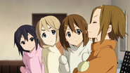 Ritsu being relied on