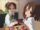 Ui and Yui eating takoyaki.jpg