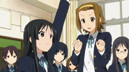 Mio recommends Ritsu to play Romeo