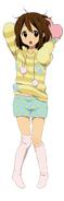Yui in PJs