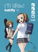 K-ON! Volume 4 Special Back Side 3