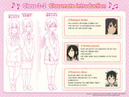 Kimiko, Kyouko and Akiyo Classmate Introduction
