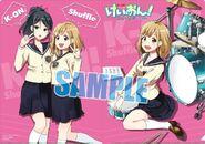 K-ON! Shuffle Sample cover
