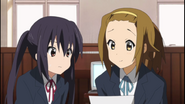 Ritsu forgetting about the adutortium application