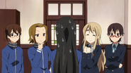 Ritsu and Mugi have plans for Mio
