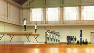 Sakura High gym from inside