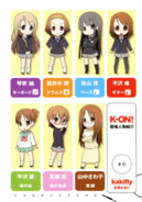 K-ON! Volume 1 Chapter 0 Character Introduction