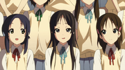 Mio and her fanclub