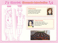 Haruna and Natsuka Classmate Introduction