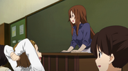 Ritsu, Sawako and Maki in class