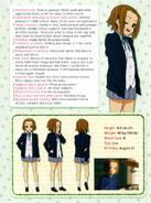 Ritsu Tainaka Character Profile 2