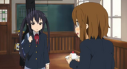 Yui discovers something