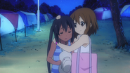Azusa got sunburned again