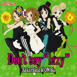 Don't say lazy 2