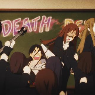 Death Devil tampil di sekolah, dengan Horigome mengungkapkan ketidaksetujuannya