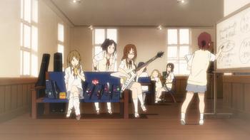 Light Music Club during Sawako's days