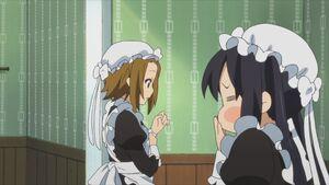 Ritsu and Azusa