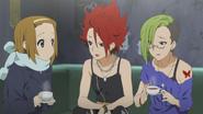 Ritsu, Sayaka and Eri