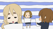 Mugi, yui and ritsu drawing