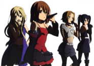 Death Devil Mugi, Yui, Ritsu and Azusa