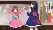 Yui and azusa yutaka
