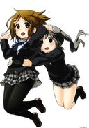 K-ON! Manga Yui and Azusa