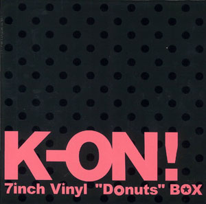K-ON! 7inch Vinyl Donuts BOX album cover