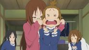 Sawako punishes Ritsu