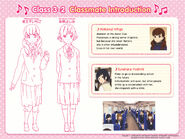 Ichigo and Yoshimi Classmate Introduction