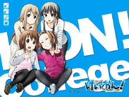 K-ON! College alt cover 3