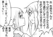 Sumire convincing Tsumugi