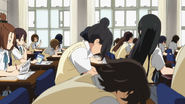 Yui got Mio's letter
