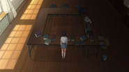 Nodoka in the student council room