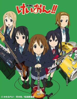 K-ON!! Poster