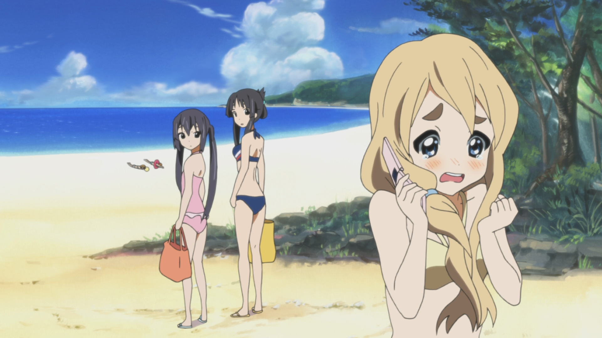 Mugi Doesnt Want All The Beach Material
