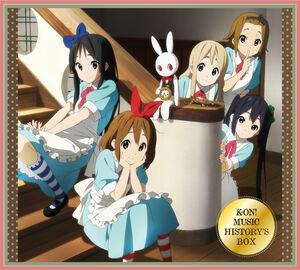 K-ON! Music History's Box album cover