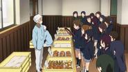 Sakura High cafeteria