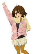 Yui in the winter