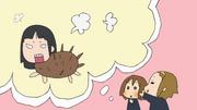 Mio as a porcupine