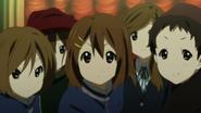 Shizuka, Yui and Keiko