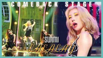 -Comeback Stage- SUNMI - LALALAY, 선미 - 날라리 Show Music core 20190831
