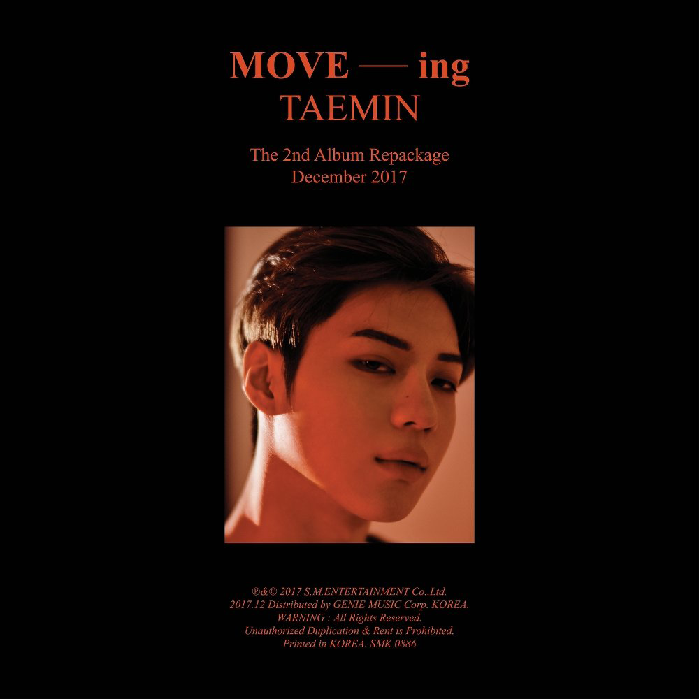 Imagini pentru taemin move ing album cover