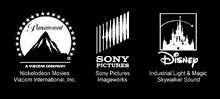Paramount Sony and Disney for kablam movie