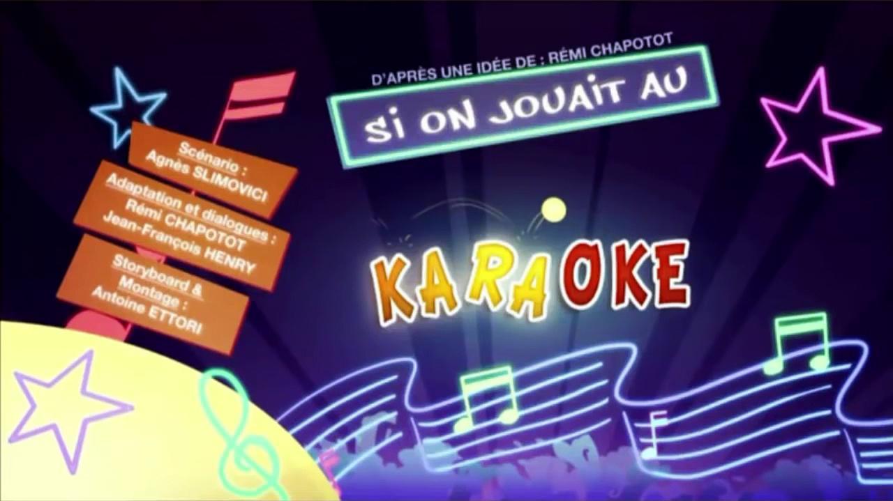 Kaeloo - S2E45 Let's Play Karaoke (English subs)