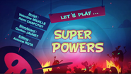 Let's Play Super Powers